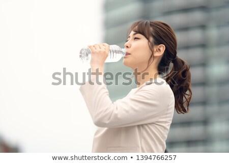 fierce business woman Stock photo © feedough
