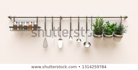 Cartoon Home Kitchen Knife Set stock photo © RAStudio