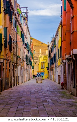 Venice side street Stock photo © michey