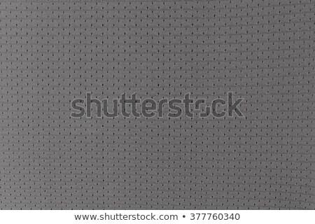 Gri spor tekstil doku Stok fotoğraf © grivet