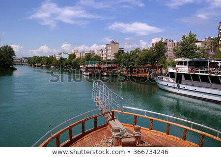 Manavgat river boats stock photo © sophie_mcaulay