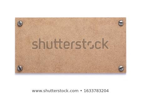антикварная · шаблон · коричневый · двери - Сток-фото © trgowanlock