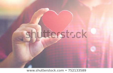 coeur · sang · santé · rouge - photo stock © lightsource
