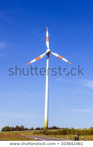 Fırıldak enerji yaz esinti sokak teknoloji Stok fotoğraf © meinzahn