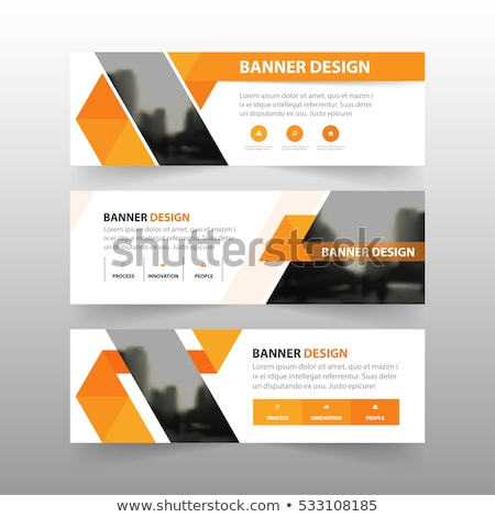 abstract advertising panels stock photo © bocosb