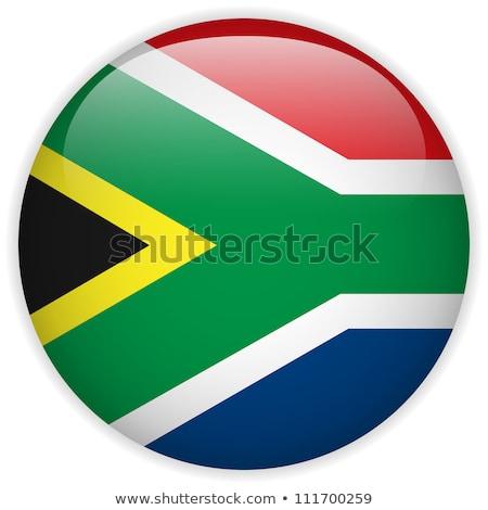Republik · Südafrika · Flagge · Feuer · Computergrafik · Sterne - stock foto © ustofre9