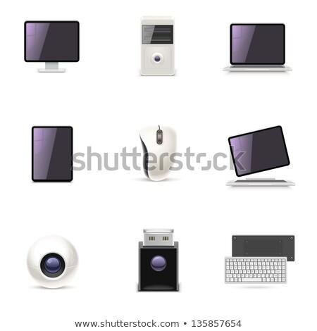 ПК таблетка xxl современных электронных Сток-фото © axstokes