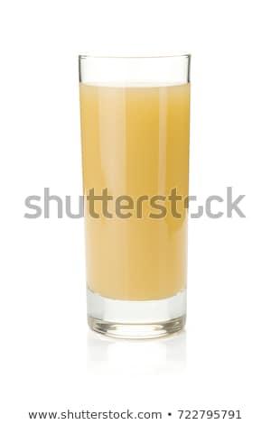 ガラス · 梨 · ジュース · 新鮮な · 食品 · 自然 - ストックフォト © natalinka