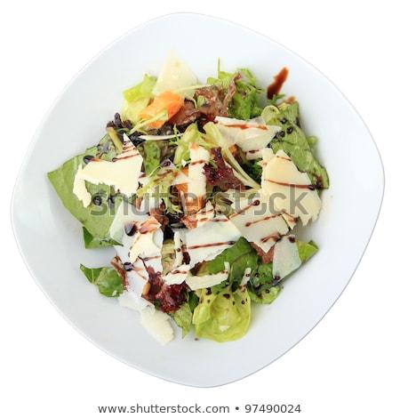 Fresche insalata fegato coniglio verdure fresche Foto d'archivio © doupix