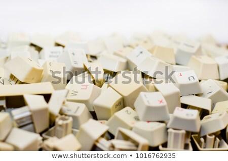 keyboard with break button stock photo © tashatuvango