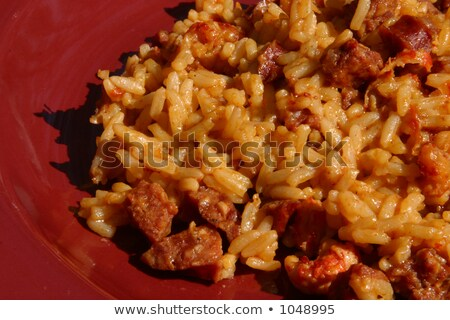 Crawfish Jambalaya Ingredients stock photo © 805promo