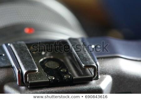 Old external hotshoe flash Stock photo © pxhidalgo