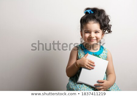 3d small people   gift ready stock photo © anatolym