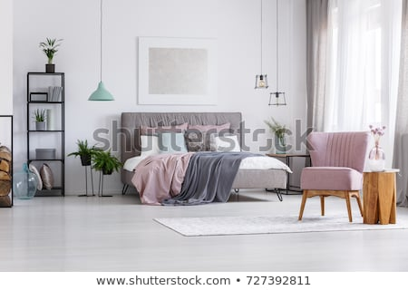 woman in bedroom stock photo © ssuaphoto