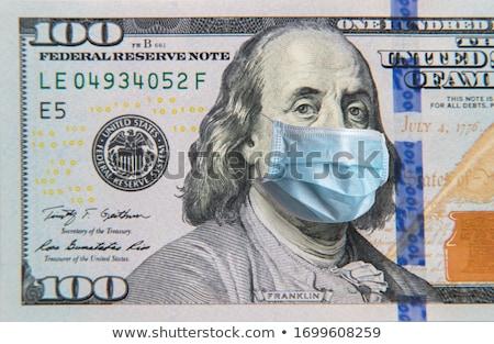 Cem dólares símbolo dinheiro Foto stock © hanusst
