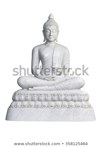 big buddha isolated on white stock photo © juhku