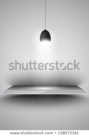 Lamp lichten product advertentie simulatie Stockfoto © DavidArts