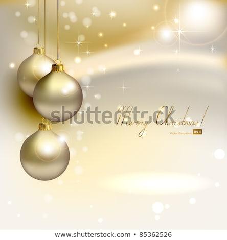 Trois sphères blanche vert bleu Photo stock © oly5
