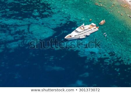 風景 ヨット コルシカ島 ビーチ スポーツ 自然 ストックフォト © richardjary