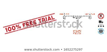 maanden · gratis · Rood · vector · business - stockfoto © burakowski