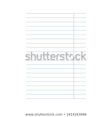 Graph Paper A4 Sheet Vector Illustration © Michael Travers