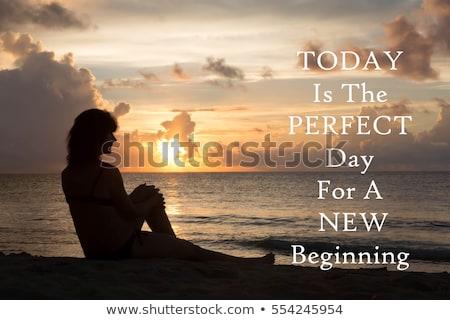 hoje · dia · palavras · assinar · escrita - foto stock © maxmitzu