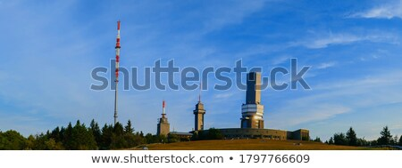 televisione · torre · tramonto · città · metal · sunrise - foto d'archivio © meinzahn