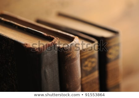 Close-up of an old book Stock photo © michaklootwijk
