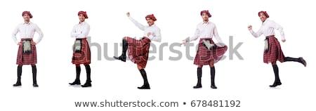 Funny aislado blanco danza calle baile Foto stock © Elnur