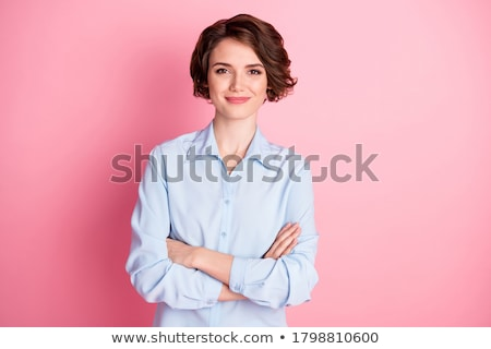 Stock photo: Business Woman With Arms Folded