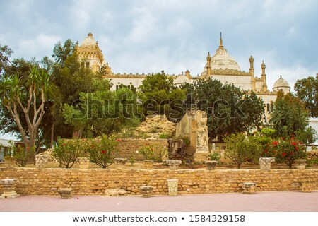 Roman Cathedral And Ruins Stock photo © Kacpura
