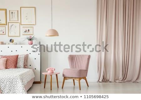 интерьер · классический · комнату · углу · пусто · сцена - Сток-фото © amok