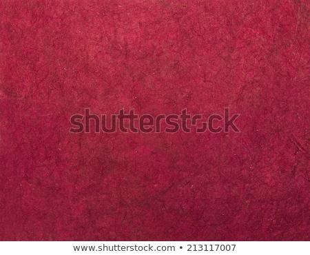 Magenta wykonany ręcznie asian tekstury papieru przydatny projektu Zdjęcia stock © Arsgera