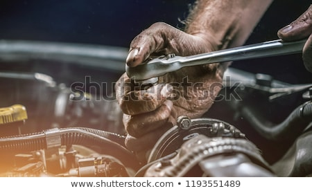 Hands of mechanic Stock photo © uatp1