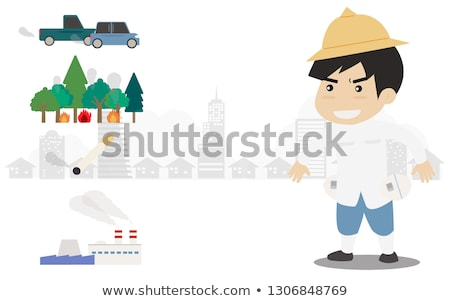young man with gun stock photo © andreypopov