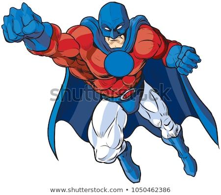 comic cartoon tough man  Stock photo © lineartestpilot