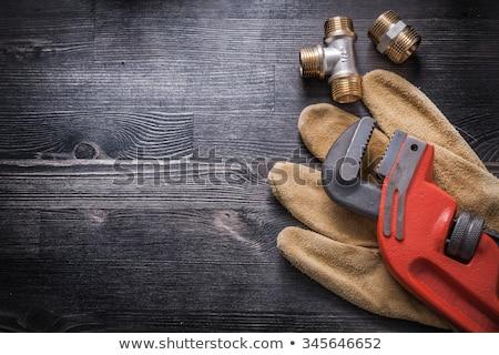 Pesado dever ferramenta metal industrial serviço Foto stock © donatas1205