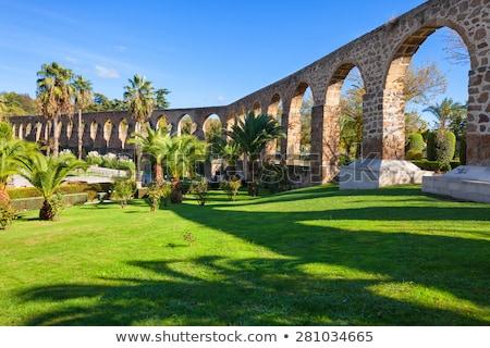 Espagne eau pont Europe cityscape arc Photo stock © Photooiasson