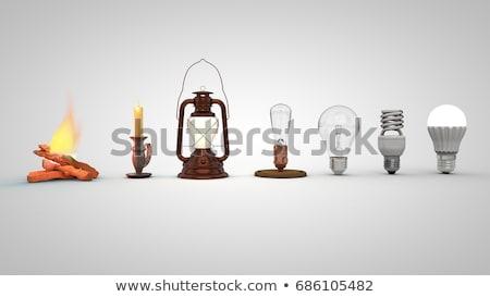 Evolução seis fundo energia branco Foto stock © mhristov