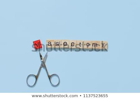 Vasectomy procedure Stock photo © adrenalina