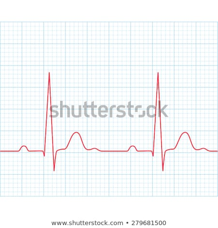 Electrocardiogram. EPS 8 Stock photo © beholdereye