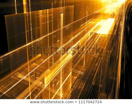 実例 · 抽象的な · フラクタル · 幾何学的な · パターン · 光 - ストックフォト © shawlinmohd