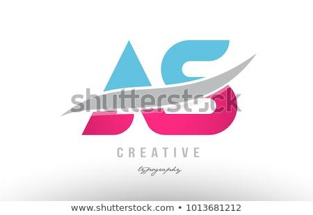 abstract business logotype vector element Stock photo © blaskorizov