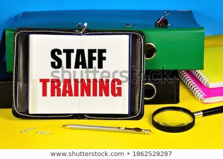 Office folder with inscription Personnel. Stock photo © tashatuvango