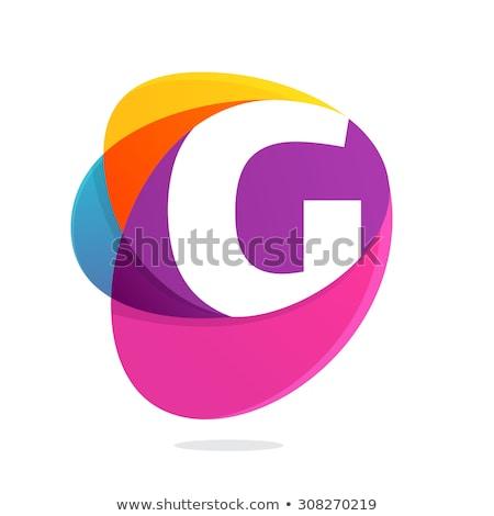 Flash Violet Vector Icon Design Stock photo © rizwanali3d