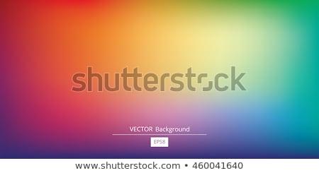 pintura · resumen · arco · iris · colores - foto stock © romvo