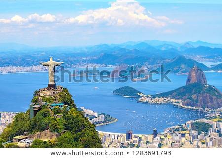 Városi építészet Rio de Janeiro Brazília dél-amerika égbolt Stock fotó © Spectral