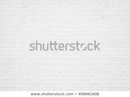 Diagonale bianco muro di mattoni texture esterno urbana Foto d'archivio © stevanovicigor