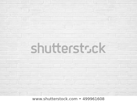 diagonal white brick wall texture stock photo © stevanovicigor