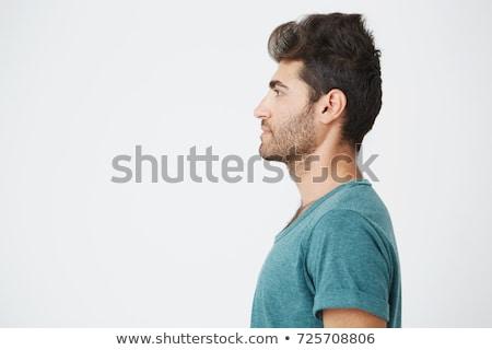 Adulto casual masculina perfil retrato espacio de la copia Foto stock © stevanovicigor